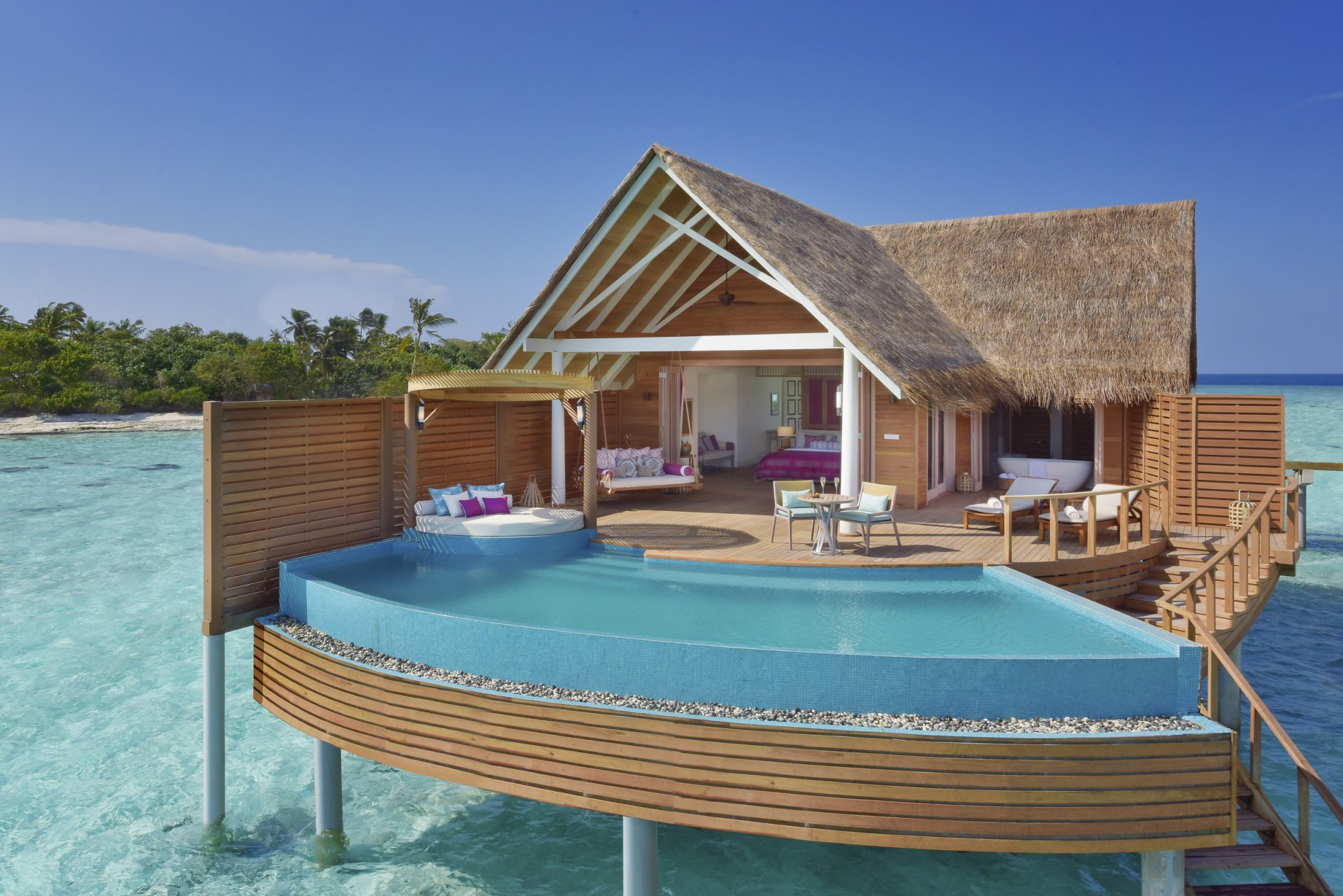 Milaidhoo Maldives accomm 1 water pool villa exterior (1)